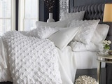 Organic Cotton Pin-Tucked Duvet Cover - contemporary - duvet covers - - by West Elm