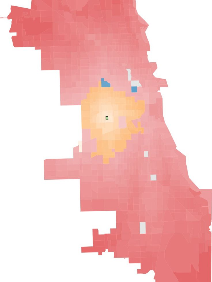 Chicago Map Grid%0A Fastest Mode of Transport  Chicago
