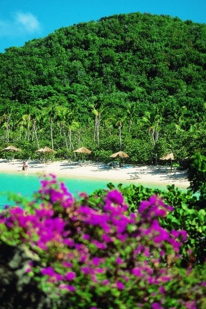 Rosewood's Little Dix Bay, Virgin Gorda, British Virgin Islands, Caribbean.