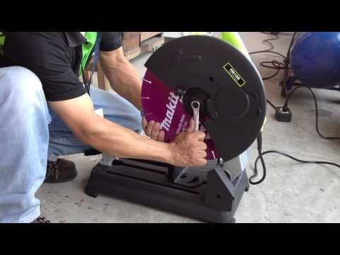 Homemade large angle grinder stand and metal chop saw 2 in 1 - YouTube