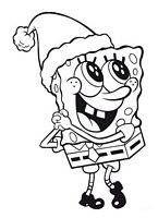 Kolorowanki Spongebob, dla dzieci do wydruku
