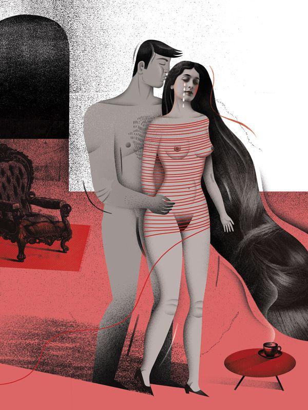 W najnowszym numerze miesięcznika Zwierciadło, o tym, że na smuteczki najlepsze jest przytulanie! A żeby było lepiej to dziś Illustra...