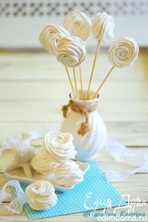 Ванильный зефир. Ароматный, воздушный и всеми любимый десерт, который так легко…