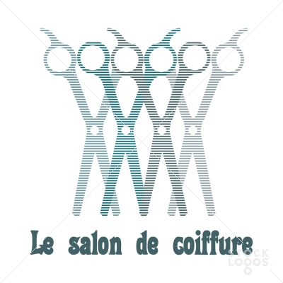 La salon de coiffure coiffures for sale and logos - Logo salon de coiffure ...