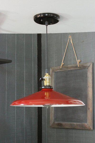 large red pendant light barn lights vintage lighting industrial pendant lighting industrial