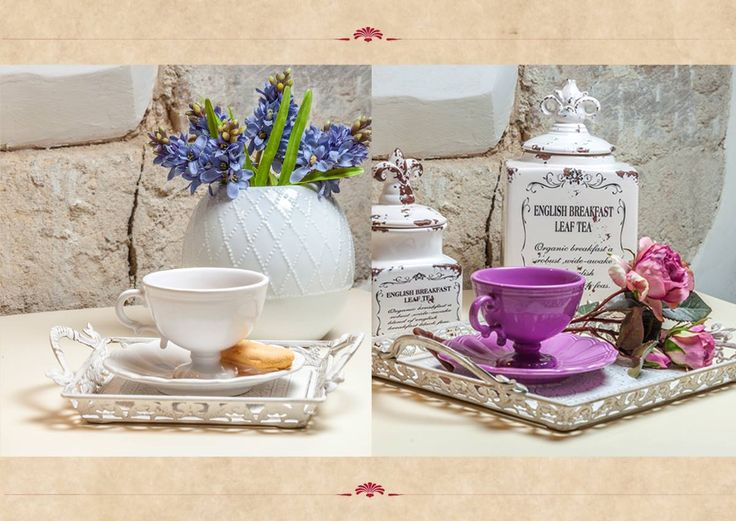 The marvelous Royal Collection! Only at Chic Ville. Pamper yourself with rare, elegant colours! enjoy each moment of coffee or tea!