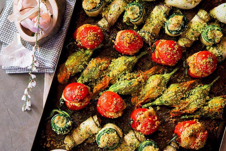 Ricetta Teglia di verdure ripiene gratinate - La Cucina Italiana: ricette, news, chef, storie in cucina