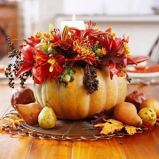 Lenyűgöző őszi asztali dekorációk, mert itt van az ősz, itt van újra.... - MindenegybenBlog