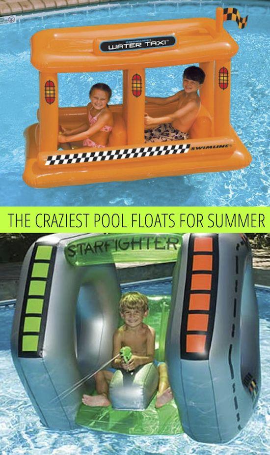Crazy Pool Floats