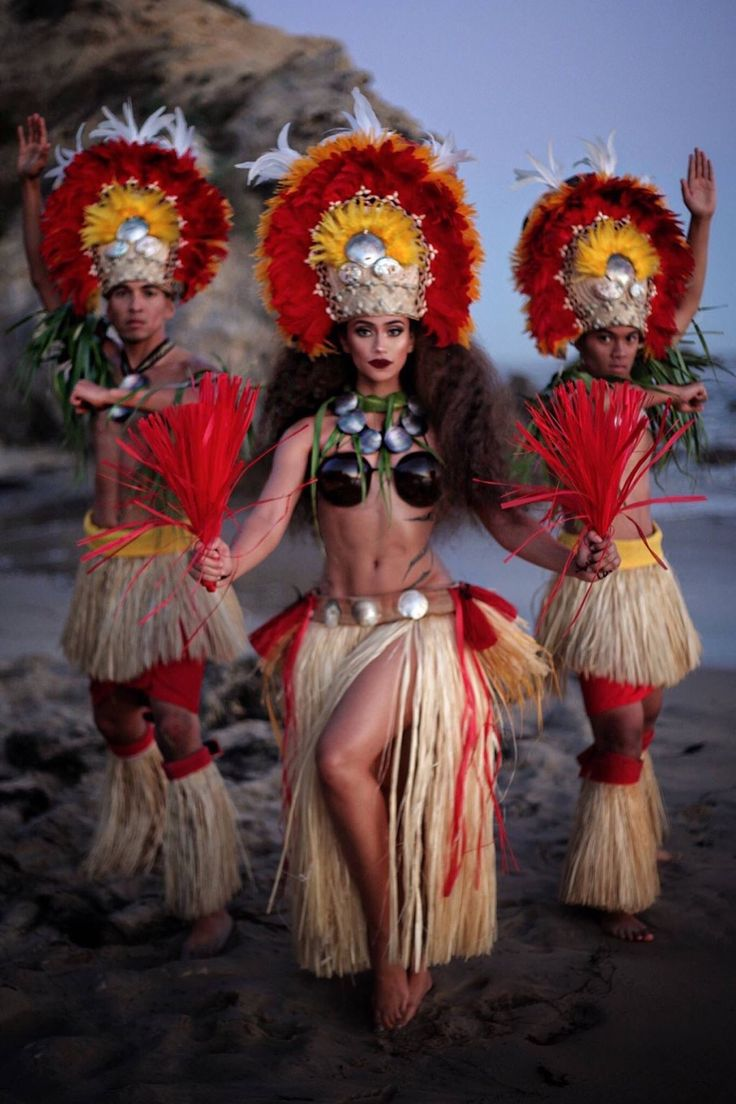 Proud Polynesian, our cultural dance costumes are so beautiful, and so are our people!