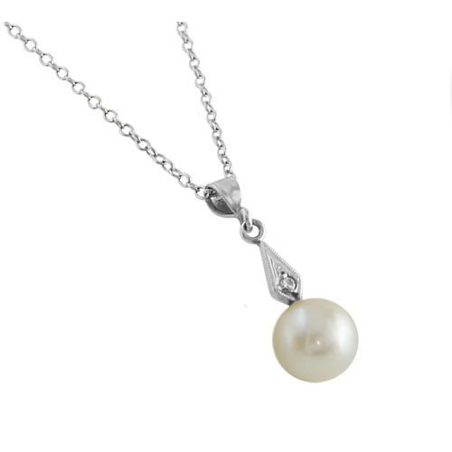 ESTATE PEARL PENDANT   Howard - Fine Jewellers & Custom Designers