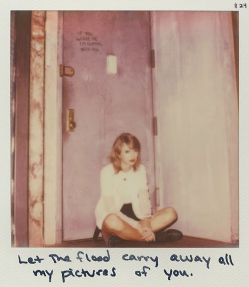 Taylor swift polaroid