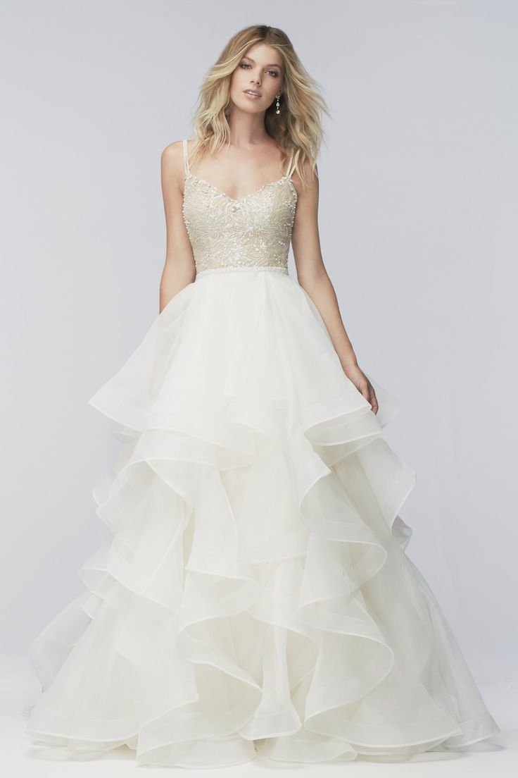Watters Style Kennedy Available at It  39 s Your Day Bridal Boutique  1661 Front Road  LaSalle  Ontario 519 978 5003
