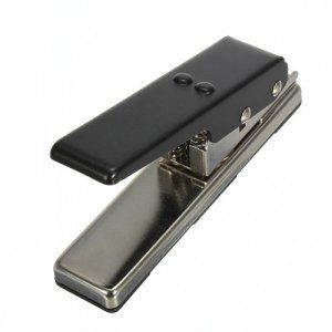 MECO Médiator de guitare Pro Coupe Carte médiators Maker bricolage musique en acier inoxydable