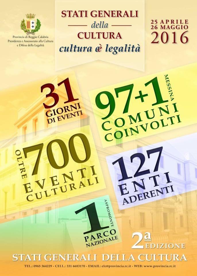 Stati Generali della Cultura della Provincia di Reggio Calabria