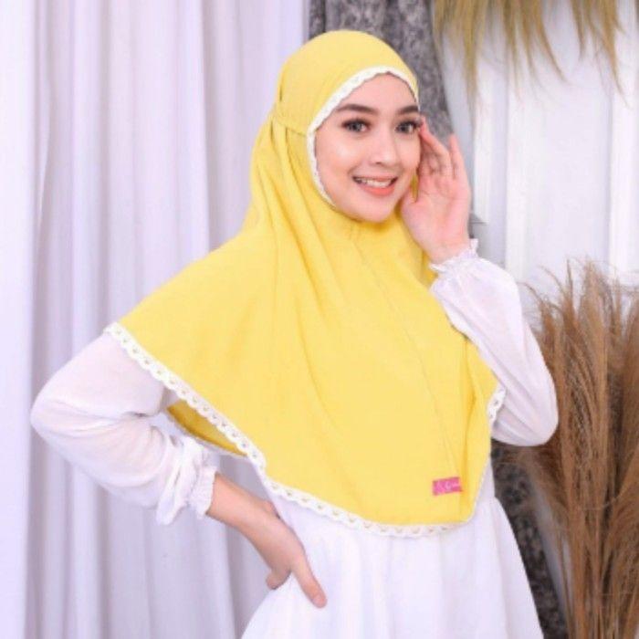 Jilbab Bergo Maryam Polos Grosir Jilbab Instan Maryam Renda Premium Original Model