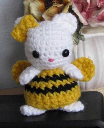 Hello Kitty Amigurumi Schema Italiano : 17 Best images about AMIGURUMI HELLO KITTY on Pinterest ...