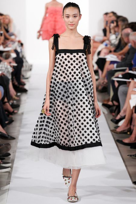 For When You Don't Feel Like Dressing, Having Guests or Having to Go Out, But, Have To, Oscar de la Renta Spring 2014 Ready-to-Wear Collection.
