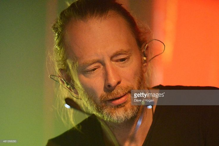 Thom Yorke performs on day 3 of Latitude Festival at Henham Park Estate on July 18, 2015 in Southwold, England.