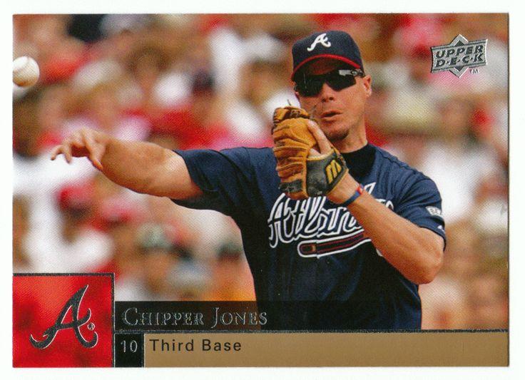 Chipper Jones # 22 - 2009 Upper Deck Baseball