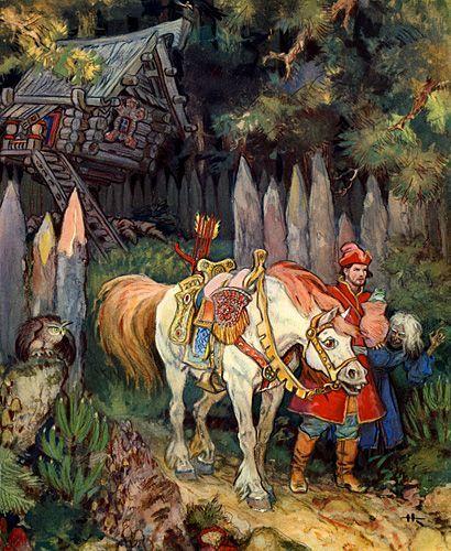 Russian Fairy tale: Art Illustrations, Fairytales Illustrated, Fairytale Art, Fairy Tales,