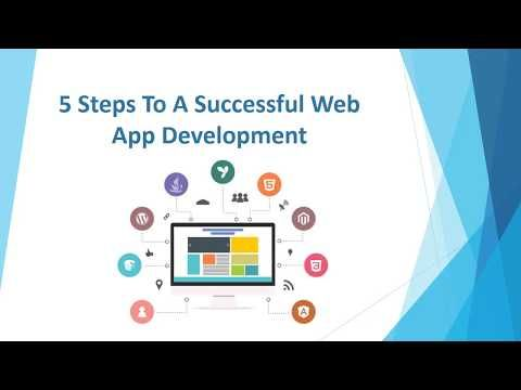 5 Steps To A Successful Web Application Development