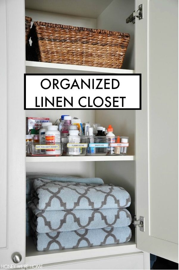 Getting Organized In The New Year. Organized Linen ClosetsLinen Closet  OrganizationOrganization IdeasGetting ...