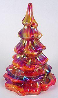 Fenton Glass Christmas Trees