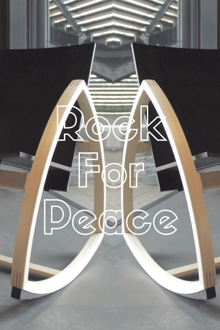 We are Nordic. We love design. We want to redefine your rocking chair experience. Each Rock For Peace chair is handmade in Finland in a town called Fiskars by the skilled craftsmen. We are...one of a kind. www.rockforpeace.me