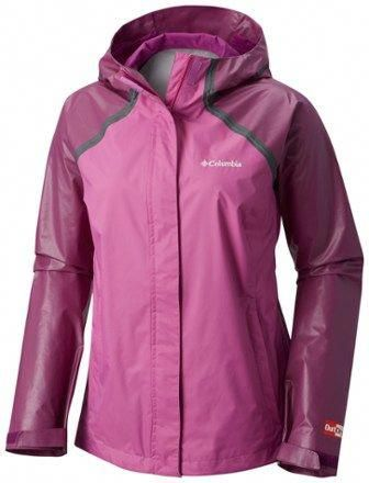 c65d9bf2351 Columbia Women s OutDry Hybrid Rain Jacket Plus Sizes Bright  Lavender Intense Violet 1X  H MRainJacketWomens
