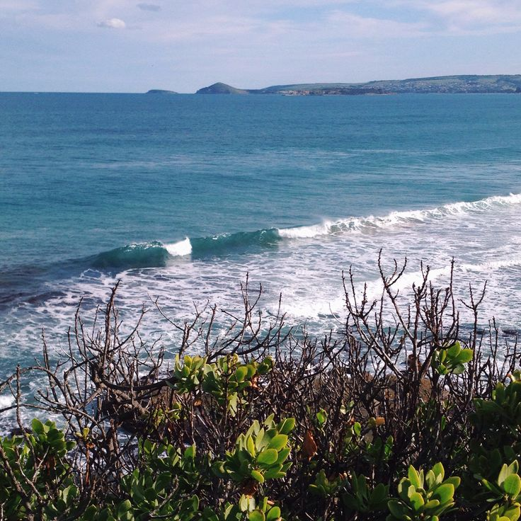 Winter view of Knights Beach. Spring is not far away - yay!