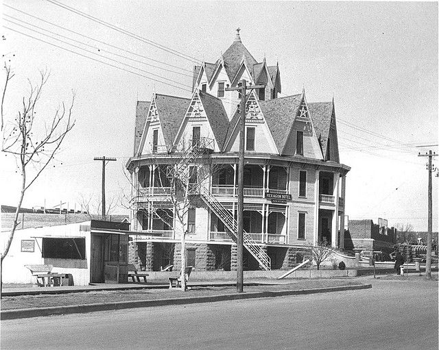 Gothic Hexagon Hotel Mineral Wells TX