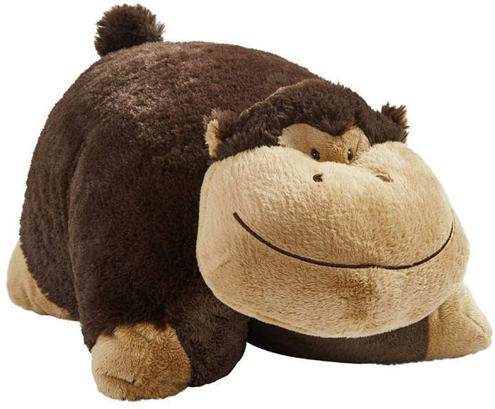 Pillow Pets Signature Silly Monkey Stuffed Animal Plush Toy Reviews Macy S Pillow Pets Signature Sil Animal Pillows Monkey Stuffed Animal Animal Plush Toys
