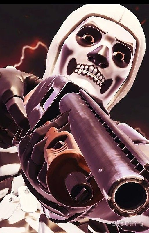 Fortnite Skull Trooper Skin Case Jayden Pinterest Skull Skin