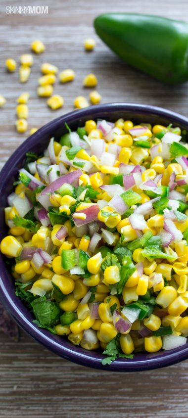 Looking to try out a healthy salsa recipe?  Click here and learn how to whip out our simple copycat corn salsa recipe!