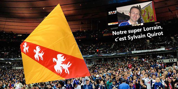 EURO : Le drapeau de la Lorraine rayonne sur les télés du monde entier grâce à lui - http://www.le-lorrain.fr/blog/2016/07/07/euro-drapeau-de-lorraine-rayonne-tele-monde-entier/
