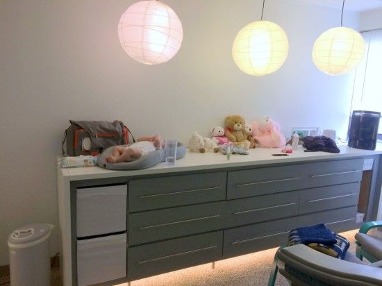 EXPEDIT-KALLAX-MALM hybrid chest of drawers for remodeled nursery | IKEA Hackers