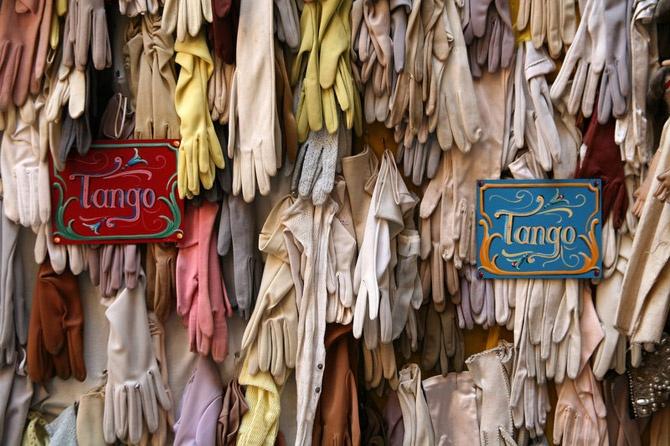La botica de Vicky, vintage clothing store in San Telmo.