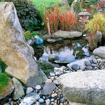 40 best images about japanese garden on pinterest for Japanese style pond