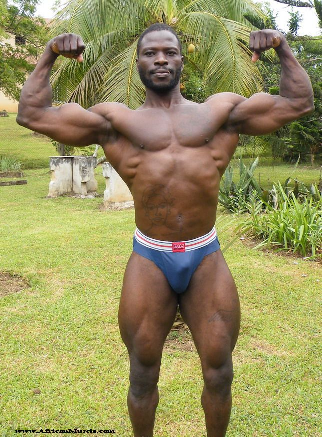 black bodybuilders male nude