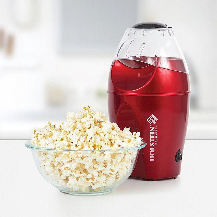 Holstein Housewares Holstein Celebration Hot Air Popcorn Maker - Red