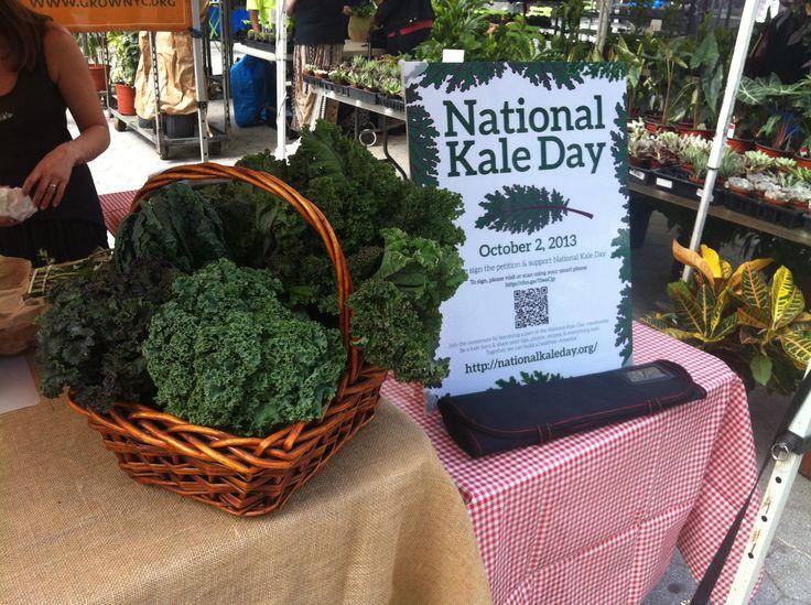 Lets Go National Kale Day! Join Team Kale at nationalkaleday.org