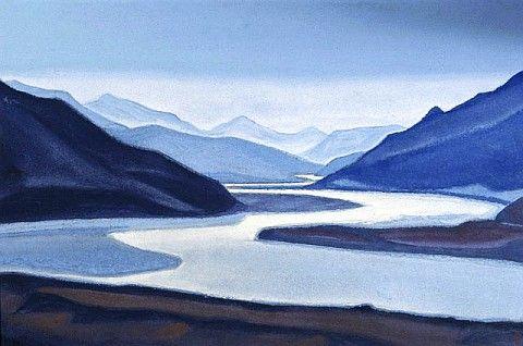 Brahmaputra by Nicholas Roerich
