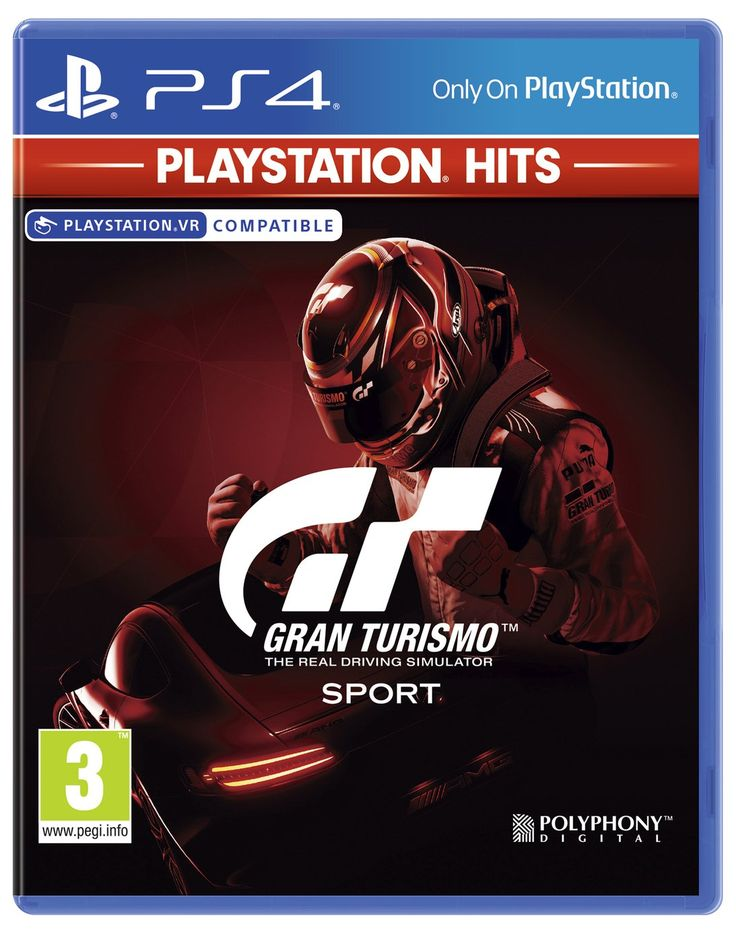 Gran Turismo Sport PS4 Hits Game in 2020 Hit games, Ps4