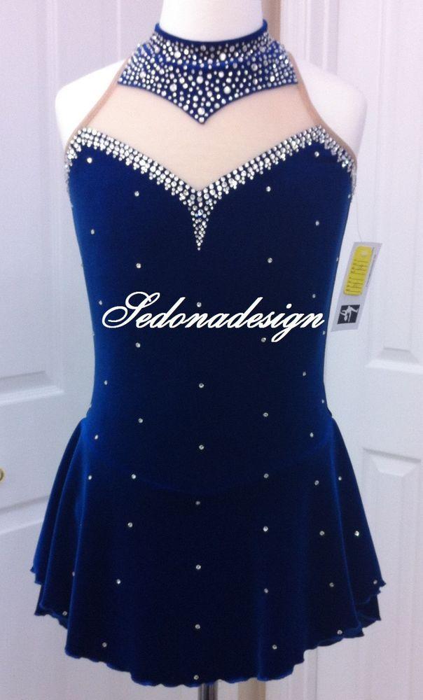 Custome Made Ice Skating Dress #Lilyspotswear