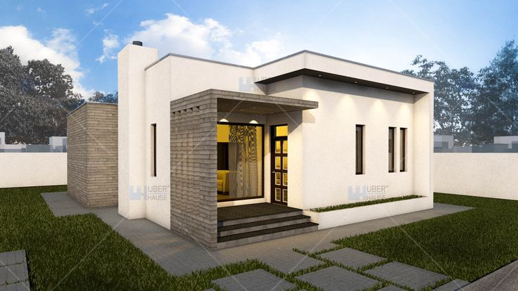 Proiect casa parter (88 mp) - Minimus. Mai multe detalii gasiti aici: https://www.uberhause.ro/proiect-casa-parter-88-mp-minimus