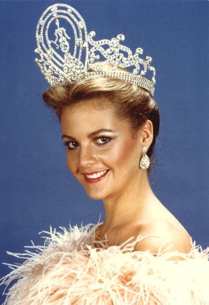 Miss Universo 1981. Irene Sáez, Miss Venezuela. MISS UNIVERSE ORGANIZATION/CORTESÍA