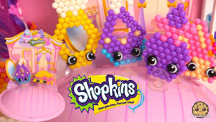 Create Shopkins Season 3 Limited Edition Ruby Earring and Hattie Hat Bea...