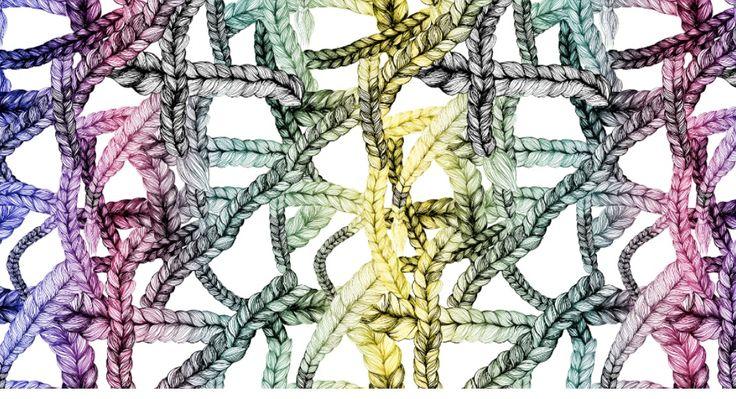 Rainbow Braid (Sateenkaariletti) by Maija Louekari for VIMMA Company