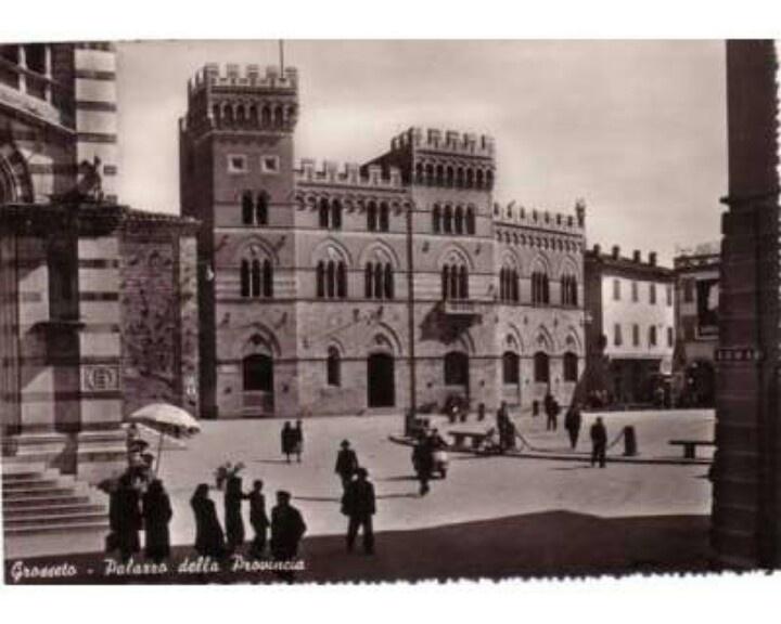 1950 #Grosseto Piazza Dante